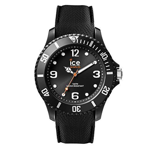Ice-Watch - ICE sixty nine Black - Schwarze Herrenuhr mit Silikonarmband - 007265 (Large)