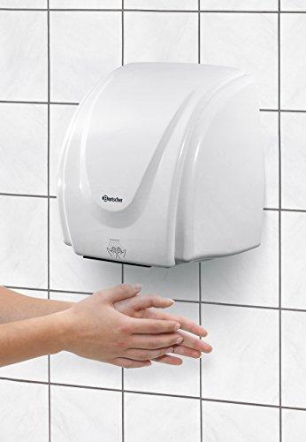 Bartscher 850000 Händetrockner für Wandmontage