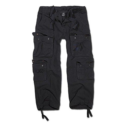 Hose Brandit Pure Vintage Trouser schwarz Größe L