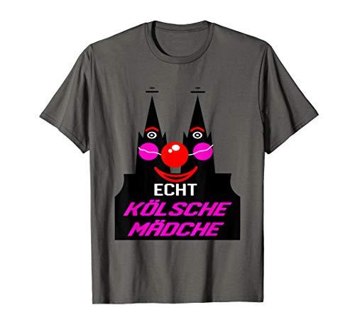 Echt Kölsche Mädche Köln Kölnerin Dom Shirt
