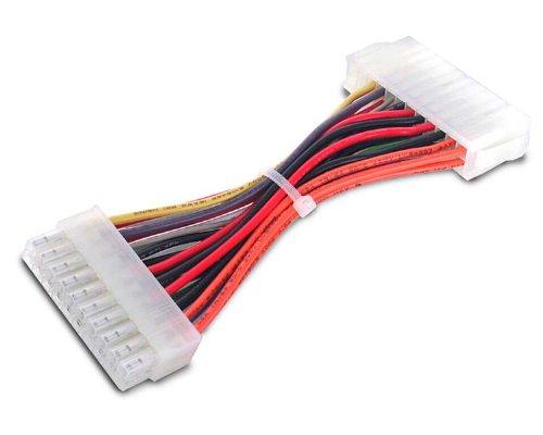 StarTech 24 Pin ATX Power Supply to 20 Pin - Cable para Fuente de alimentación (15.2 cm, 1 - ATX 24 Pin, 1 - ATX 20 Pin)