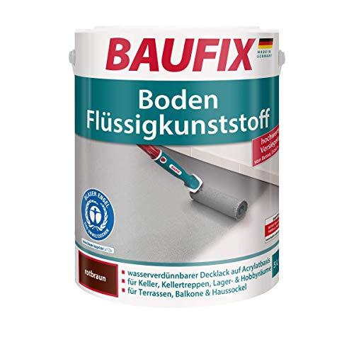 BAUFIX Boden Flüssigkunststoff, braun, 5L