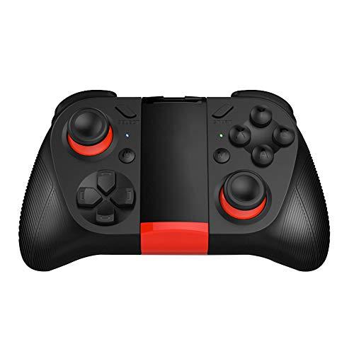 Kilcvt Gamepad inalámbrico, Controlador de Gamepad de Bluetooth Joystick Multifuncional, para teléfonos Inteligentes Android/Tabletas de PC 9.2