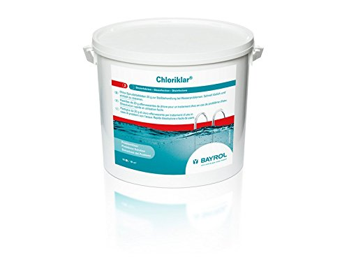 Bayrol 10 kg CHLORIKLAR 20 g Rapide.