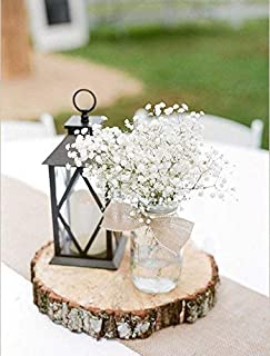 Rustic Wedding Centerpiece - Round Tree Bark Slice - Rustic Wood Tree Trunk Slices - Natural Wood Slice - Tree Slice Cake Stand