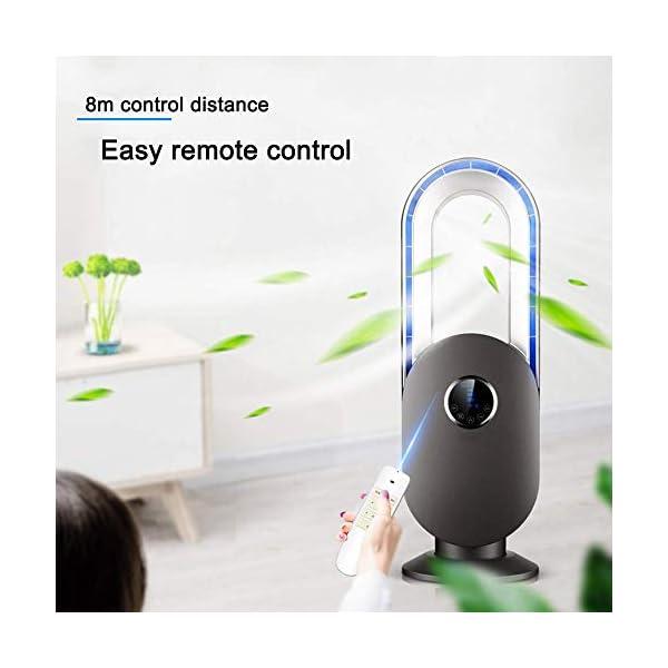 ZXYY-Ventilador-sin-aspas-Ventilador-de-enfriamiento-silencioso-para-Oficina-con-Control-Remoto-oscilante-Ajuste-de-3-velocidades-Estabilidad-de-Seguridad-Ventilador-de-Escritorio-porttil-Potent