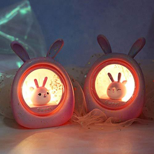 Gyjcd Twee Gradiënt Sterrenhemel Nachtlampje Decoraties Nieuwjaar Cadeau Cartoon Cadeau Woondecoratie Student Cadeau