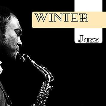 Winter Jazz - Instrumental Jazzy Café Songs, Fall Leaves Sax & Piano
