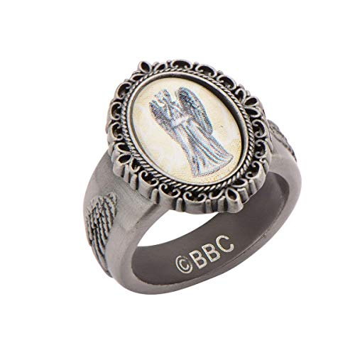 Doctor Who Weeping Angel Cameo Ring | 8
