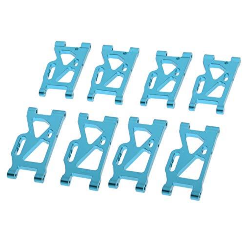 lahomia 8X 1/14 RC Brazos Oscilantes Delanteros E Inferiores para WLtoys 144001 Rock Crawler Car Parts