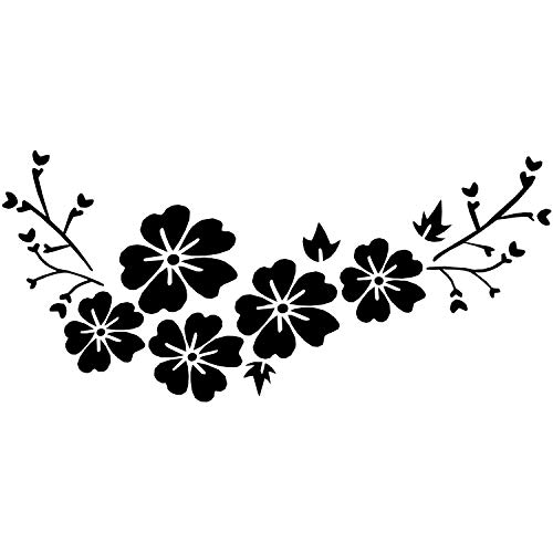 Pegatinas Para El Coche Flores Marca Jcevium