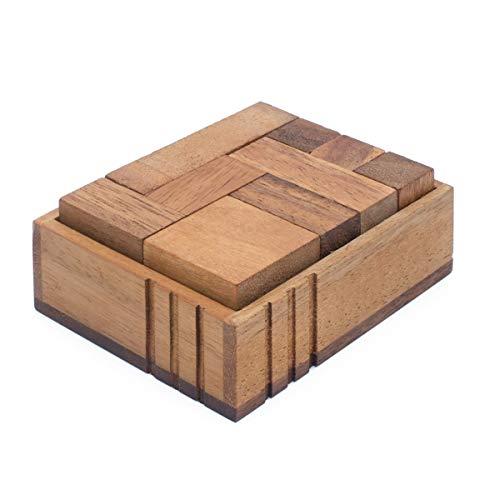 SiamMandalay Challenge Box: Rompecabezas Madera -