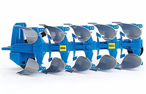 Bruder 2331, Arado reversible, plástico, azul
