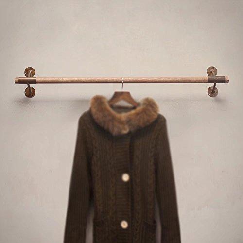 Porte-vêtements Présentoir de Magasin de vêtements/Cintre en Bois forgé (Taille: 100cm)