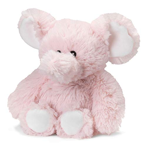 Intelex Warmies Microwavable French Lavender Scented Plush, Jr. Elephant, Pink, 6' x 2' x 4'