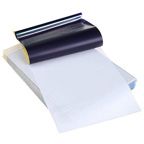 Vococal® 25pcs temporaire tatouage transfert imprimante papier A4 taille de tatouage fournitures pour imprimantes à jet d'encre