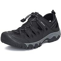 Sandalias Senderismo Hombre Transpirable Antideslizante Zapatillas de Deportivas Verano Trekking Montaña Playa Al Aire Libre Negro 40