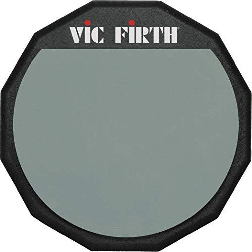 """Vic Firth PAD 6 - Accesorios de batería, cara de goma blanda, 6"""""""