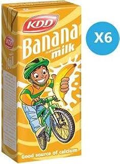 Kdd Banana Milk 180ml (6 Pack)
