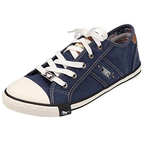 Mustang Damen 1099-302 Sneaker, Blau (841 jeansblau), 39 EU