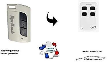 Carty R afstandsbediening compatibel met AerF, Apritech, alle modellen 433 MHz voor vaste code en rolling Code - voor gara...