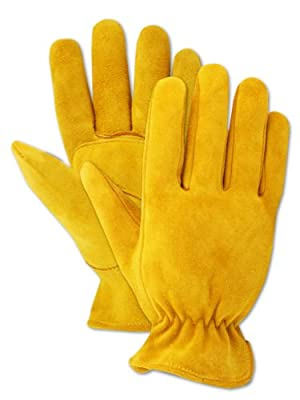 Magid Men's Pro Grade Collection Premium Suede Deerskin Gloves
