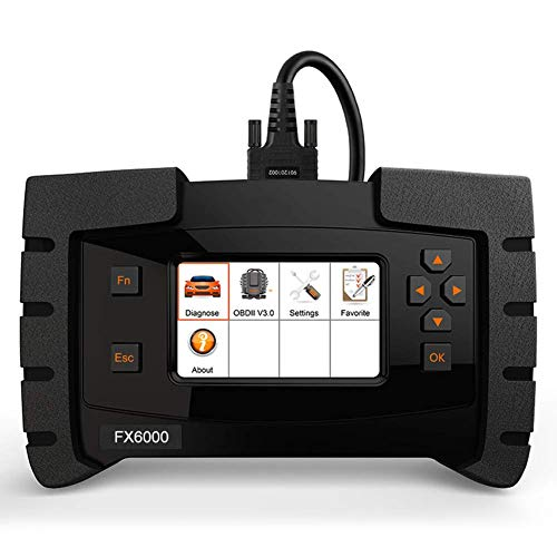 Review Of OBD2 Scanner Full System Diagnostic Scan Tool Reset ABS DPF EPB and SRS Transfer Key Progr...