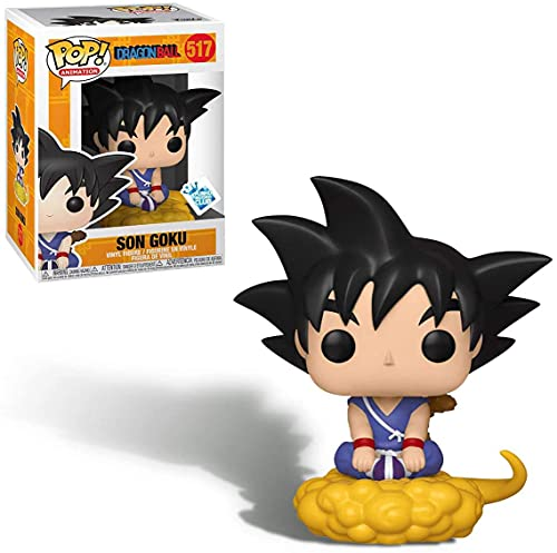 Funko Pop! Dragonball Young Son Goku sitting on Flying Nimbus Insider Club Exclusive Vinyl Figure