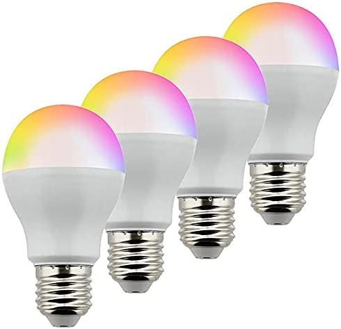 LEDwholesalers 6W Color-Changing RGB+CCT Smart wi Light Tulsa Mall 70% OFF Outlet LED Bulb