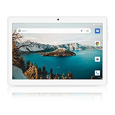 Tablet 10 inch, Android 8.1 Tablet PC, 16GB, 5G WiFi and Dual Camera, GPS, Bluetooth, 1280x800 IPS Display, Google Certified Tablets - Black by Winsing