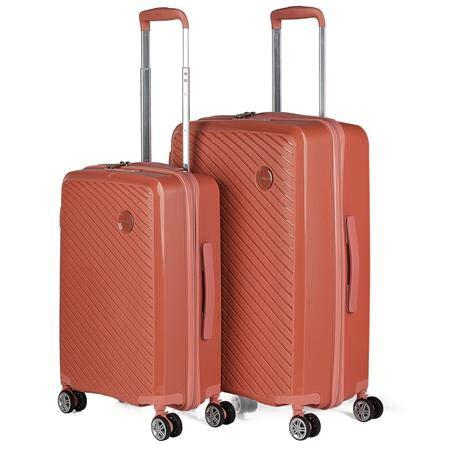 ITACA - Stevige kofferset 4 wielen polypropyleen trolley. Comfortabele en lichte oefeningen. Maten Small Medium en Large. Hoge kwaliteit Mooi ontwerp. TSA-slot