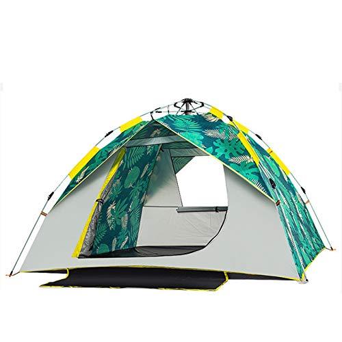 Tienda automática Camping tienda de campaña al aire libre Configuración Easy Tienda Tienda de verano Portátil Tienda Turista Senderismo Camping Tienda Viaje 2/3/4 persona Tienda ( Color : 3 4 Person )