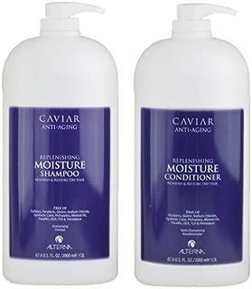 Alterna Caviar DUO Moisture Shampoo 67.6 oz and Conditioner 67.6 oz