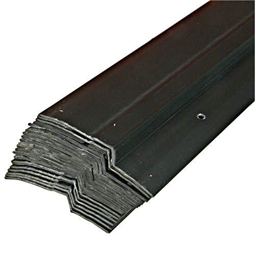 40 x 1,0m Noppenbahn Halteleiste PVC Abdeckprofil Noppenfolie Schutzleiste (40lfm)