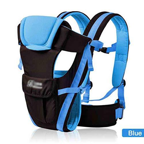 DYW Coton Ergonomique Porte-bébé Infant Sac à Dos for 0-36 Mois Enfants Landau Bébé Enfant Sling Wrap Bretelles (Color : A)