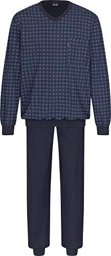 Ammann Herren-Schlafanzug Single-Jersey Marine Größe 50