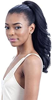 FEATHER GIRL (1B Off Black) - Freetress Equal Drawstring Synthetic Ponytail