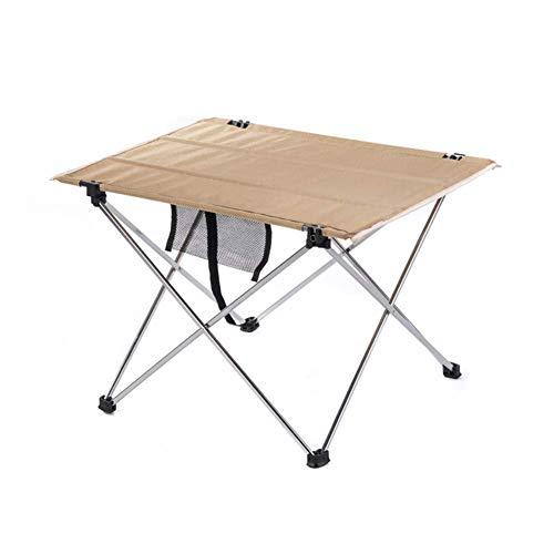 1yess Portable Picknick-Tisch - Camping Klapptische, Built-In Verstärktes Panel, Oxford Stoff, Aluminium-Rahmen, reißfest Robuste Durable for Outdoor-Camping Wandern 8bayfa