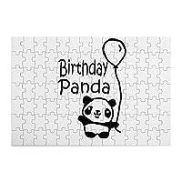 誕生日パンダ 木製パズル子供のおもちゃ、教育ゲーム、オフィスの装飾