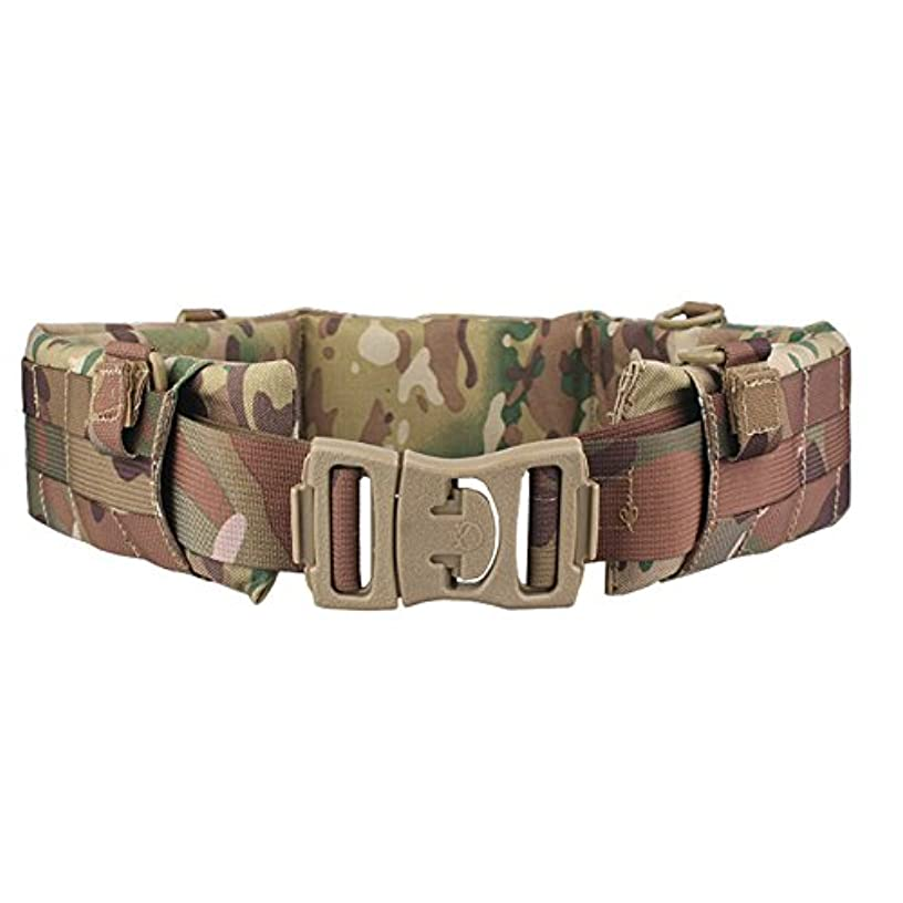 H World Shopping EMERSON Tactical Molle Waist Padded Patrol Battle Belt Military Hunting Multicam MC
