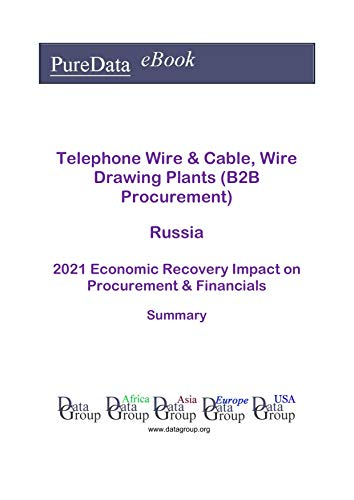 Telephone Wire & Cable, Wire Drawing Plants (B2B Procurement) Russia Summary: 2021...