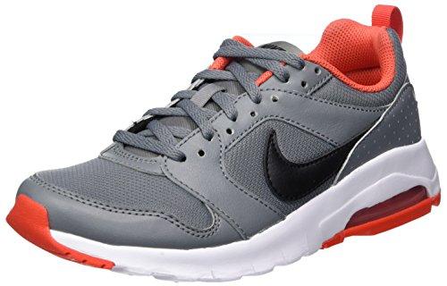 Nike 869954-002, Chaussures de Tennis garçon, Gris (Cool Grey/Black/Max Orange), 35.5 EU