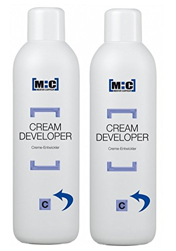 Meister Coiffeur Cream Developer C 6.0% 2 x 1000 ml H2O2 Cremeoxid von M:C
