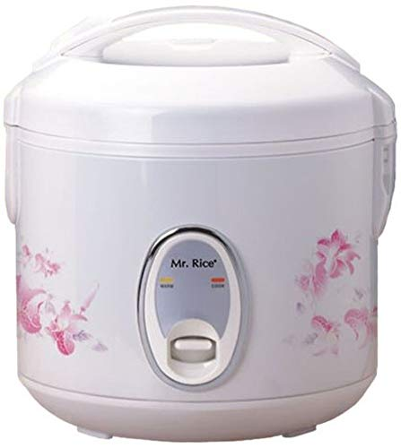 SPT SC-0800P 4-Cup Rice Cooker, Easy one-button operation, Automatic keep warm system for up to 5 hours, Air-tight lid locks in moisture and flavor, Cook and Keep Warm indicator lights