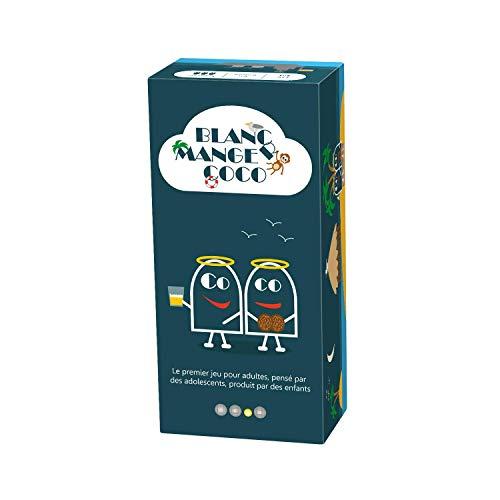 Blanc-manger Coco – Le 1er Jeu pour Adultes pensé par des Ados, Produit par des Enfants - 600 Cartes ;-