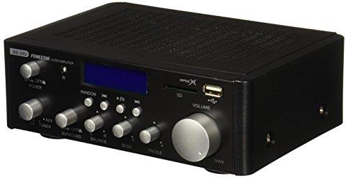 Fonestar AS-24U - Amplificador Hi-Fi USB/SD/MP3