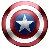 Captain America Metal Shield Avengers 1:1 Cosplay Props Red