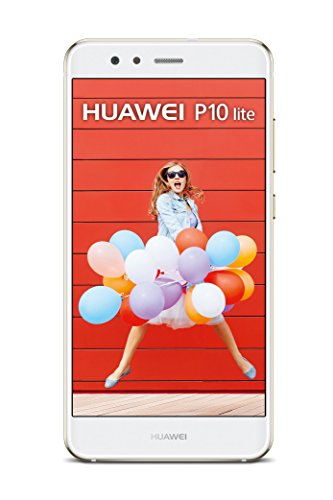 HUAWEI 51091CKM P10 lite Dual-SIM Smartphone (13,2 cm (5,2 Zoll) Touch-Display, 32 GB interner Speicher, Android 7.0) Weiß
