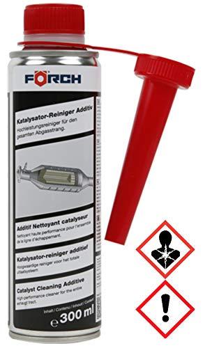 Förch Katalysator Reiniger Additiv 300ml Kat Turbolader AGR Ventil Lambdasonde für Diesel und Benziner