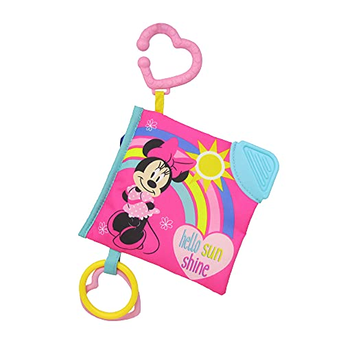 KIDS PREFERRED Disney Baby Minnie Mouse On The Go Soft Book for Babies